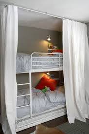 bunk beds fort i like the book ledge light for each bed too bunk bed lighting ideas