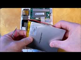 Replace lithium tablet battery (3/5 wires with 2 wire) INSIGNIA NS ...