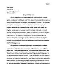 outline essay sample