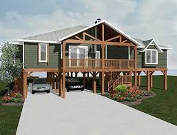 ideas about Beach House Plans on Pinterest   House plans    Plan VL  Elevated Living  Small Beach House