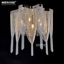 Vintage French Chain Chandelier Light <b>Fixture Lampada</b> Empire ...
