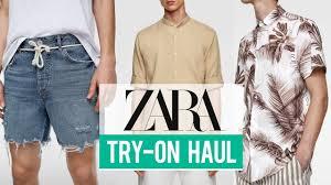 Zara Try-On Haul <b>Spring Summer</b> 2019 | <b>Men's</b> Fashion - YouTube