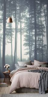 Modern Wallpaper For Bedrooms 17 Best Ideas About Nature Wallpaper On Pinterest Powder Rooms