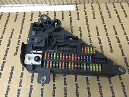 bmw oem e e trunk rear back fuse power junction fuse box relay image is loading bmw oem e60 e61 trunk rear back fuse