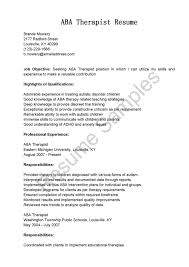 radiation therapist resume sample cipanewsletter cover letter aba therapist cover letter sample cover letter aba