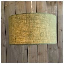 Green Hessian Light Shade Lamp Shade 25cm 30cm 35cm <b>40cm</b> ...