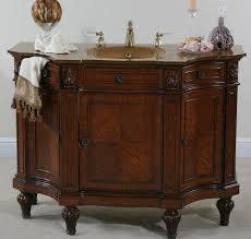 traditional style antique white bathroom:   inch bathroom vanity for  art