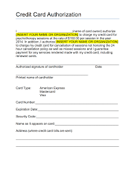 credit card authorization form template pdf pdf xianning it