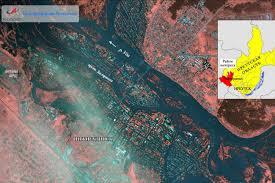 Роскосмос показал на снимках <b>масштабы</b> наводнения в ...