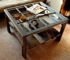 diy rustic coffee table made from a salvaged window pallet build your own rustic furniture
