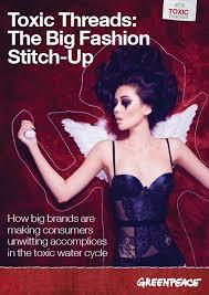 Toxic Threads: The Big <b>Fashion Stitch</b>-Up - Greenpeace International