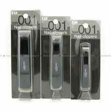 KAI Japan type001 <b>Black Nail</b> Clipper (Curved / <b>Straight Blade</b> ...