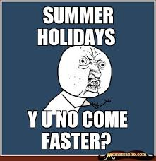 summer holidays - Memestache via Relatably.com