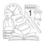 Раскраски на 1 сентября