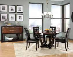 agreeable glass dining table large set