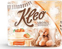 "<b>Туалетная бумага Kleo</b> ""<b>Aroma</b>. Mandarin"", трехслойная, цвет ..."