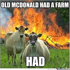 Say Goodbye To Old Mcdonald by snow_storm - Meme Center via Relatably.com