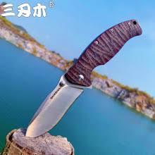 <b>SANRENMU SRM</b> NEW <b>1006</b> Pocket Folding Knife 14C28N Blade ...