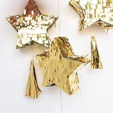 "Мини-пиньяты Звезды // Mini piñatas ""Gold star"" by <b>Meri Meri</b> 