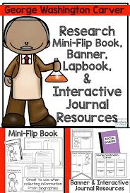 ideas about george washington biography biographies informational writing george washington carver mini book lapbook banner