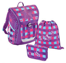 <b>Ранец STEP</b> BY <b>STEP BaggyMax</b> Fabby Pink Star 3 предмета ...