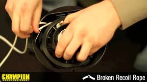 How-To: Fix a Broken <b>Recoil</b> Rope - YouTube