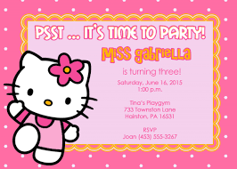 hello kitty invitation templates clipart best 2 fabulous hello kitty birthday invitations eysachsephoto com