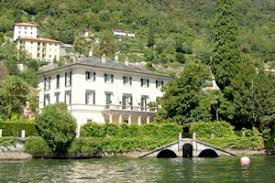 Image result for george clooney's estate on lake como
