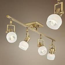 pro track corwin brass 4 light track fixture brass track lighting