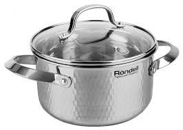 <b>Кастрюля Rondell</b> RainDrops <b>2.4 л</b> — купить по выгодной цене на ...