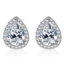 China <b>Simple</b> Ol Lady <b>Design</b> Jewelry <b>Waterdrop</b> Cubic Zircon ...