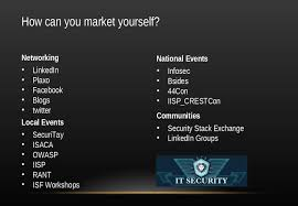presentations starting your security career where can you go se logo slide16
