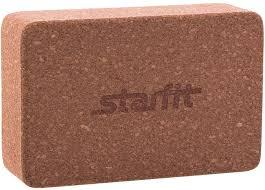 Купить <b>Блок для йоги</b> Starfit FA-102 пробка ш.:150мм в.:225мм т ...