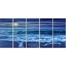 'Blue Everywhere - <b>Blue Sky</b> and Waters' Photograph Multi-<b>Piece</b> ...