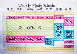 schedule template tumblr