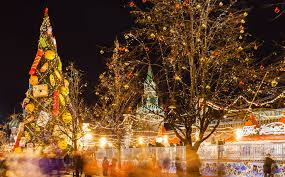 Рождественские праздники в Москве