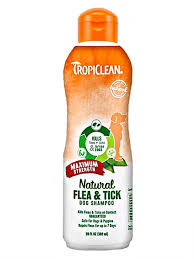 <b>TropiClean Maximum Strength</b> Flea & Tick Shampoo - Feed Bag Pet ...