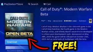 How to Download Modern Warfare Beta For Free (How to Play ...