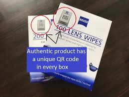 {Free gift} <b>Zeiss Lens</b> Cleaning Wipes Original <b>Pre</b>-<b>Moistened</b> ...