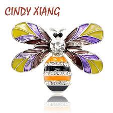 <b>CINDY XIANG New</b> Arrival 2018 Enamel Mix <b>Color</b> Honeybee ...