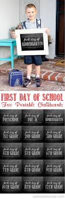 first day of school chalkboard printables chalkboard printable for the first day of school