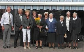 ... het 60-jarige kloosterjubileum gevierd van zuster Gertrude Habraken. - 60-jaar-kloosterzuster