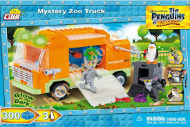 "Пластиковый <b>конструктор COBI</b> ""Mystery <b>Zoo</b> Truck"" с фигурками ..."