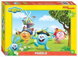 Купить <b>Пазл Step puzzle</b> Мармелад Медиа <b>Смешарики</b> (91146 ...