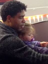 Carlos Acosta and eighteen month old daughter, Aila. - carlos-acosta-21