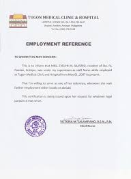 experience letter for nanny   cover letter nurse practitionerexperience letter for nanny nanny resignation letter templates and examples tugon med clinic and hospital certificate