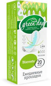 купить средства <b>гигиены GreenDay</b> Ежедневные жен <b>прокладки</b> ...