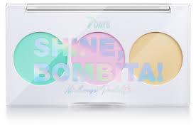 7DAYS <b>Палетка корректоров для лица</b> SHINE, BOMBITA! (3 ячейки)