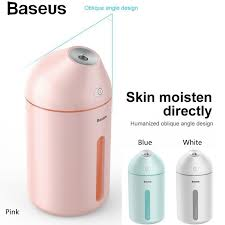 <b>Baseus</b> 320ml Protable Ultrasonic Ionizer <b>Cute Mini</b> Humidifier ...