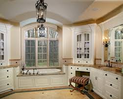corner cabinet countertop sconce placement and bathroom color theme arched ceiling bathtub bathroom lighting placement